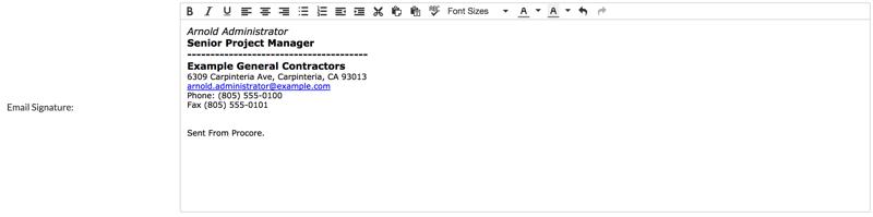 email signature format